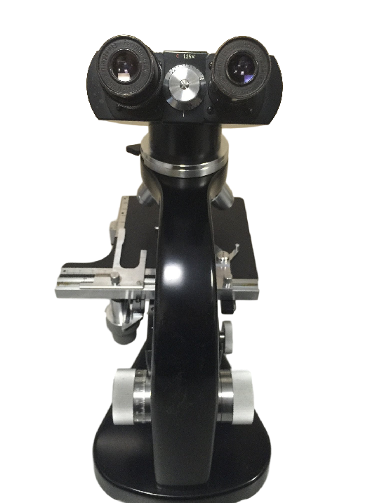 Vintage Leitz Microscope With Mirror