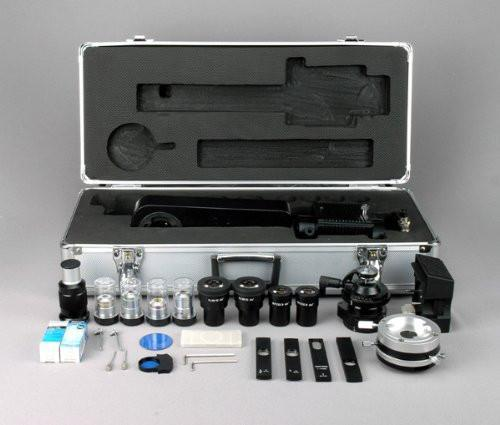 AmScope 50X-1250X EPI Infinity Polarizing Microscope + 10MP Digital Camera