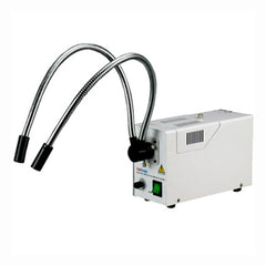 150W Fiber Optic Dual Gooseneck Microscope Illuminator