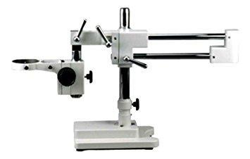AmScope Heavy Duty Double-arm Boom Stand