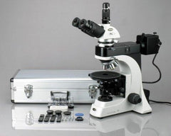 AmScope 50X-1000X Advanced EPI Trinocular Infinity Polarizing Microscope