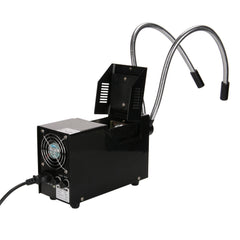 150W Fiber Optic Dual Gooseneck Illuminator for Microscopes