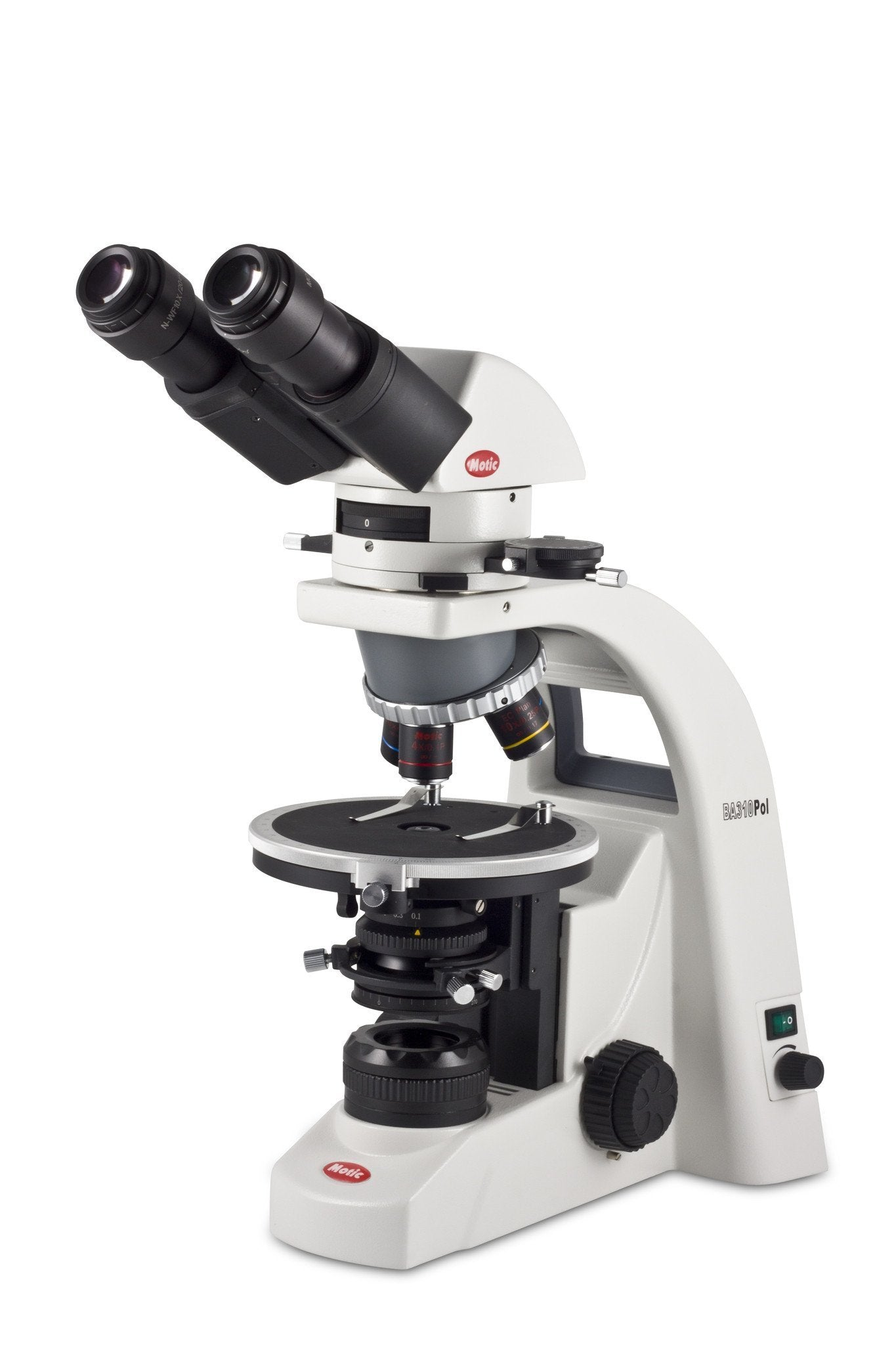 Motic BA310 POL Polarizing Light Microscope