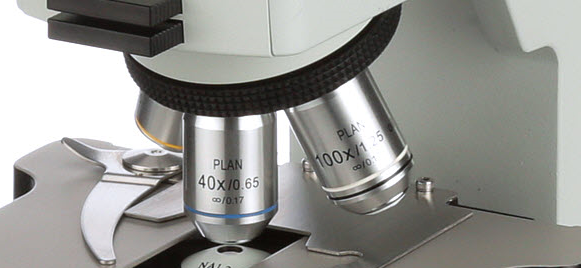 Accu-Scope NIS S-APO Objectives For EXC-350 & EXC-400 Microscopes
