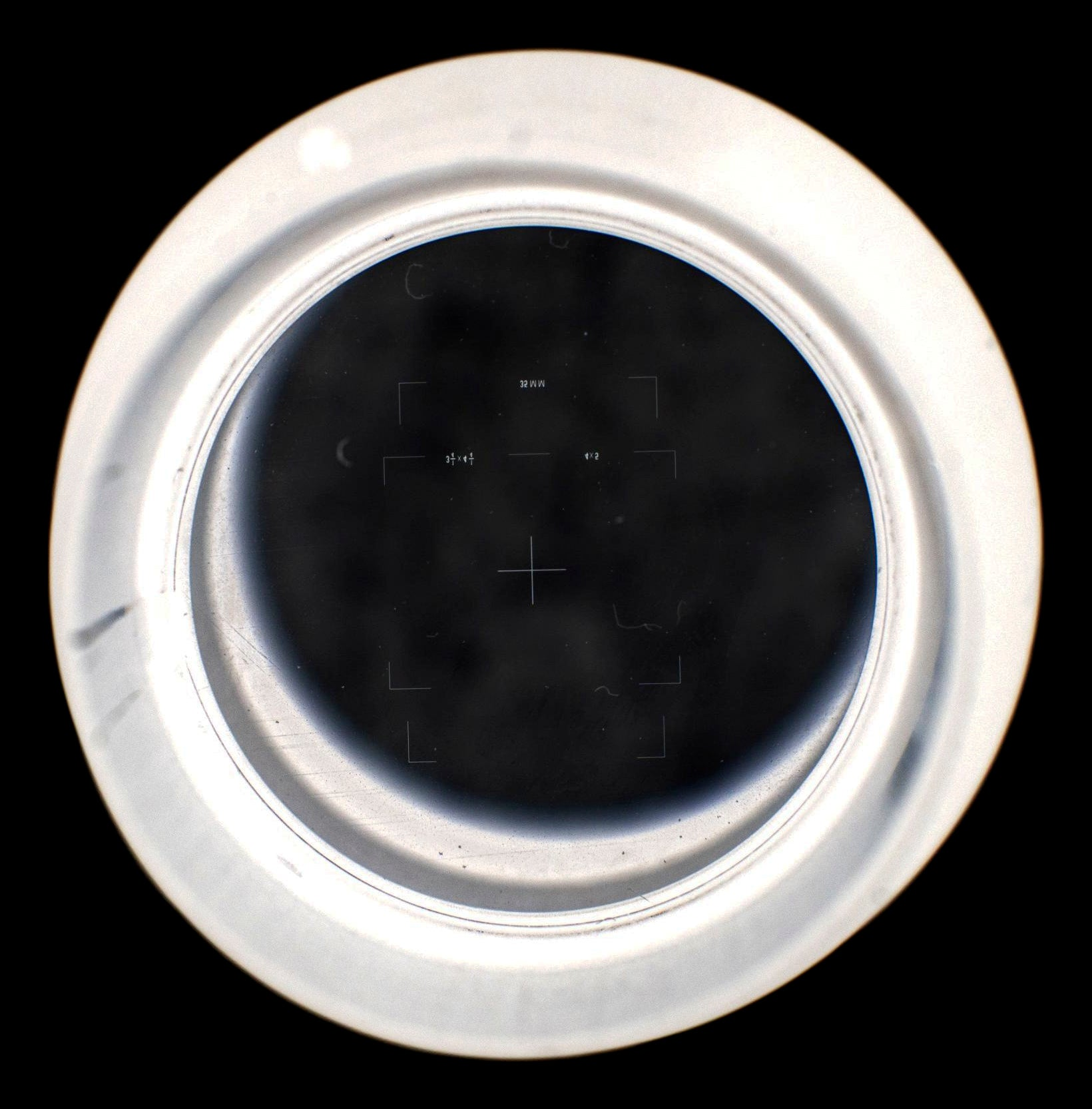 American Optical Focusing 10x W.F. 145 P Eyepiece Photographic Reticule