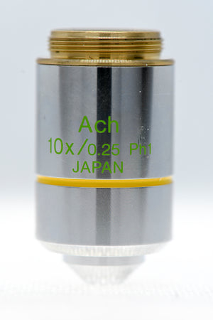 Olympus 10x Phase 1 Ach Objective