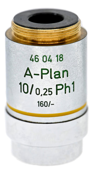 Zeiss A-Plan 10x Phase Contrast Objective