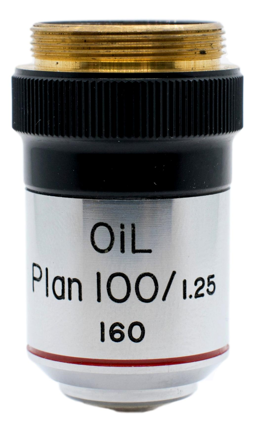 Bausch & Lomb / B&L 100x Oil Plan Objective