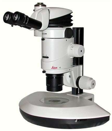 Leica MZ16 Stereozoom Microscope With Ergonomic Head