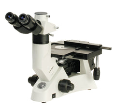 Unitron MEC2 Inverted Trinocular Metallurgical Microscope