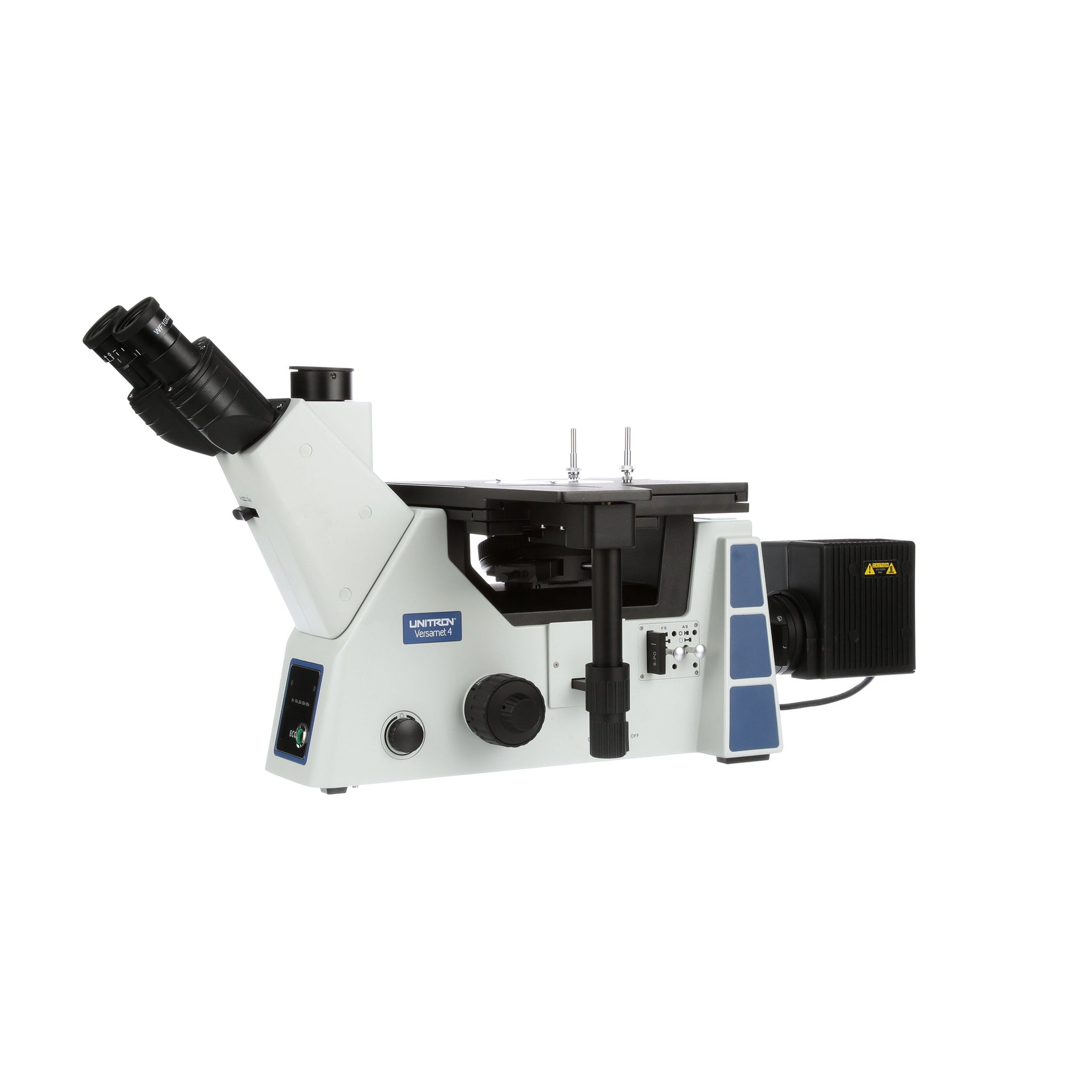 Unitron Versamet 4 Inverted Metallurgical Brightfield / Darkfield Microscope