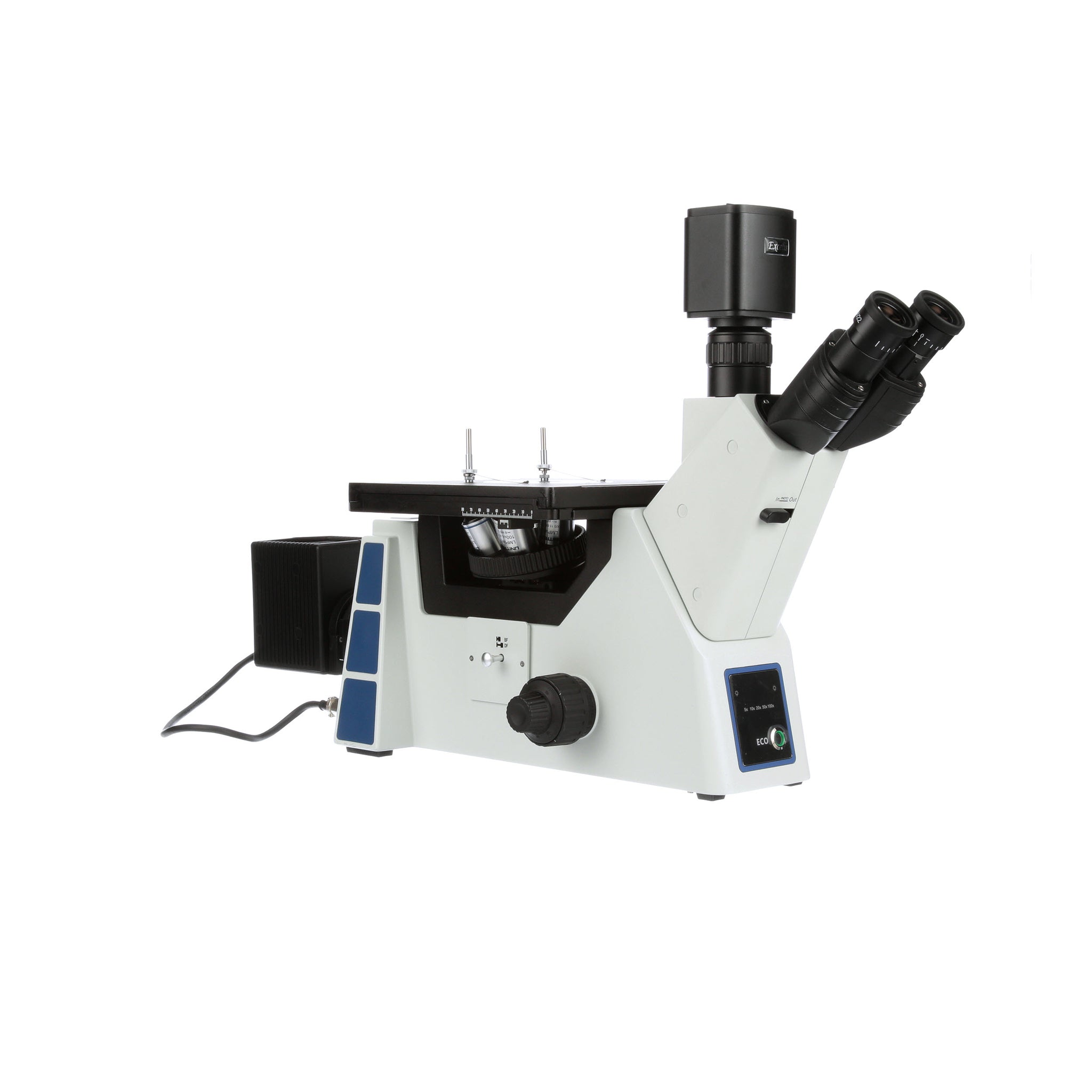 Unitron Versamet 4 Inverted Metallurgical Brightfield HD Digital Microscope