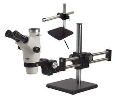 Unitron Z650HR Zoom Stereo Microscope on Boom Stand