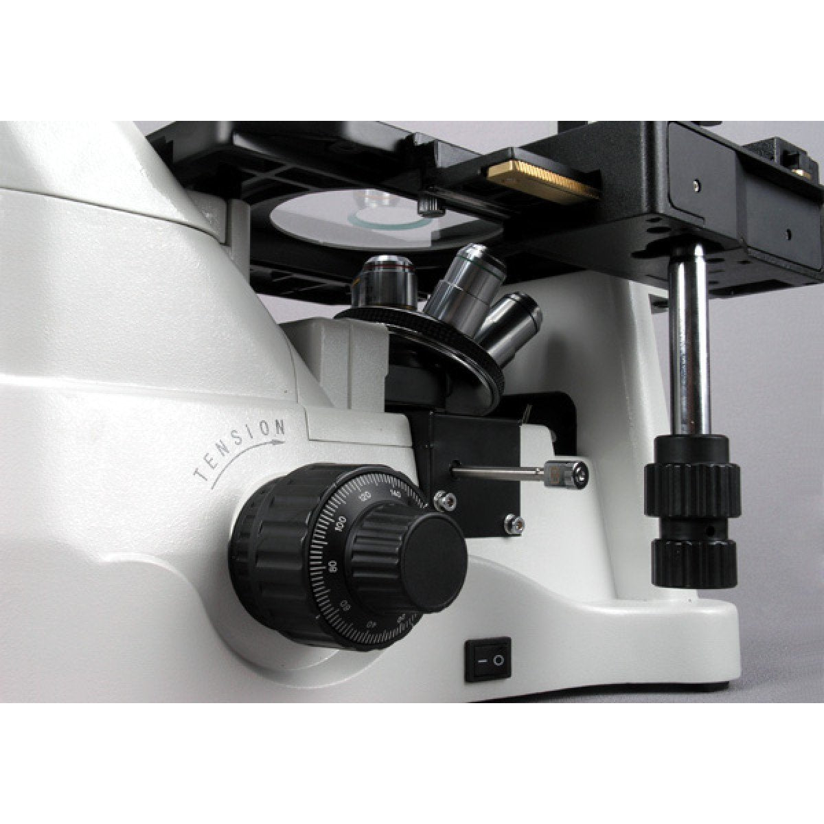 AmScope 1500X Phase Contrast Inverted Fluorescence Microscope + Fluo Camera - IN480TC-FL-MF