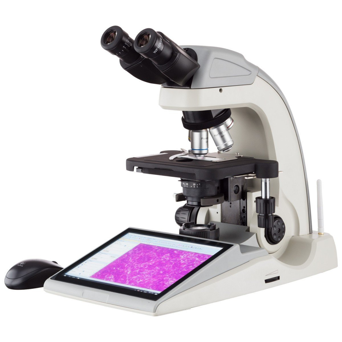 40X-1000X Research Compound Microscope with Integrated 16MP Digital Imaging System