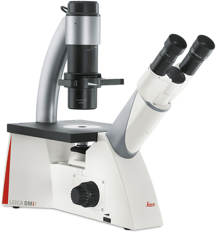 Leica DMi1 Inverted Phase Contrast Microscope