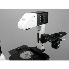AmScope 400X-600X Phase Contrast Inverted Fluorescence Microscope+3MP Camera - IN480T-FL-3M