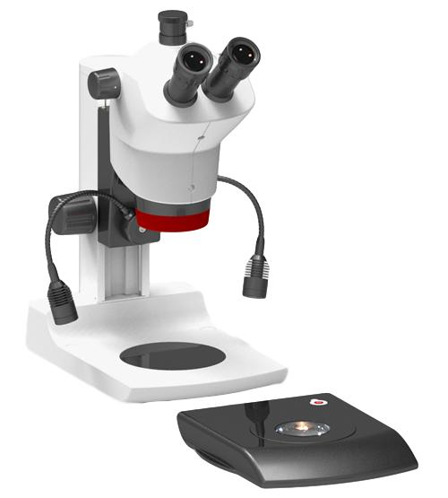 Labomed Luxeo 6Z Stereo Zoom Microscope on LED Stand