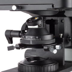 AmScope 50X-500X Metallurgical Microscope with Enhanced Optics and Dual Illumination