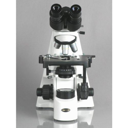 AmScope 40X-2500X Professional Infinity Plan Phase Contrast Kohler Compound Microscope