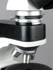 AmScope 50X-500X EPI Trinocular Infinity Polarizing Microscope + 5MP Camera