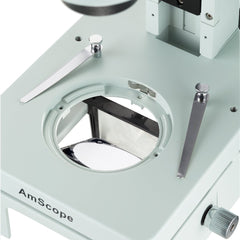 AmScope 7X-45X Brinocular Stereo Zoom Embryonic Microscope