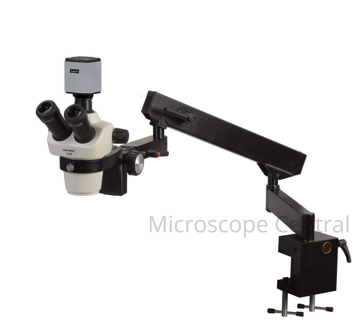 Unitron Z730 Flex Arm Digital Stereo Microscope 0.7x - 3.0x