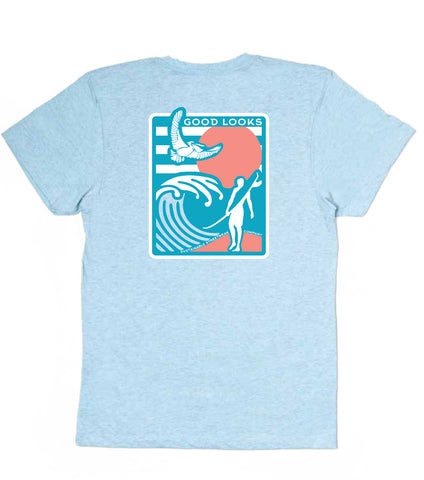Men's Surfer 100% Recycled T-Shirt