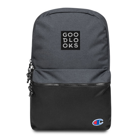 Glooks Embroidered Champion Backpack