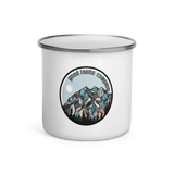 Snowy Mountain Enamel Mug