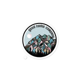 Snowy Mountain Sticker