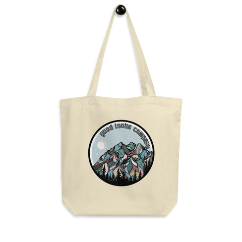 Snowy Mountain Tote Bag