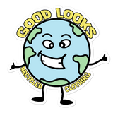 Happy Earth Sticker