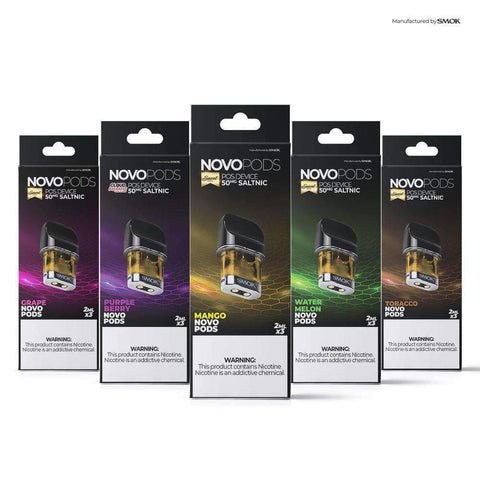 Novo Pre-Filled Pods - 6ML