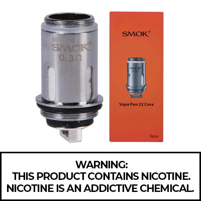 SMOK Vape Pen 22 Replacement Coils - 5 Per Pack