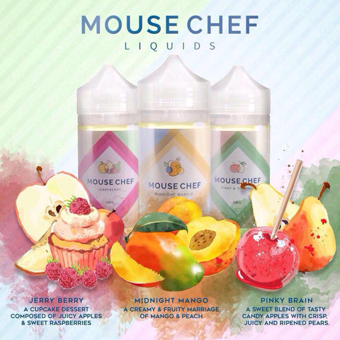 Mouse Chef E juice - 100ML