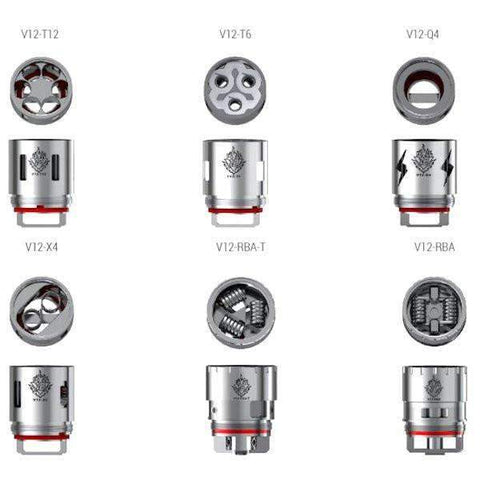 TFV12 Replacement Coils by Smok - 3 per pack