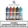 BASIX SERIES BY GLAS E-LIQUID - 60ML