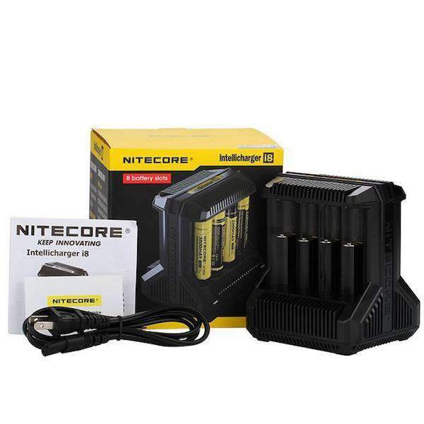 Nitecore i8 8-Bay Intelligent Battery Charger