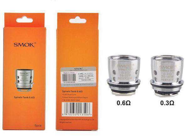 SMOK Spiral Tank replacement coils 5pack