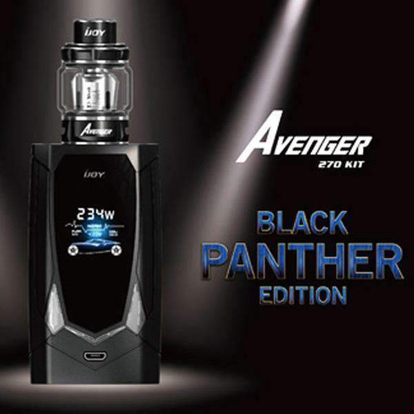EXCLUSIVE BLACK PANTHER AVENGER 270 STARTER KIT BY IJOY