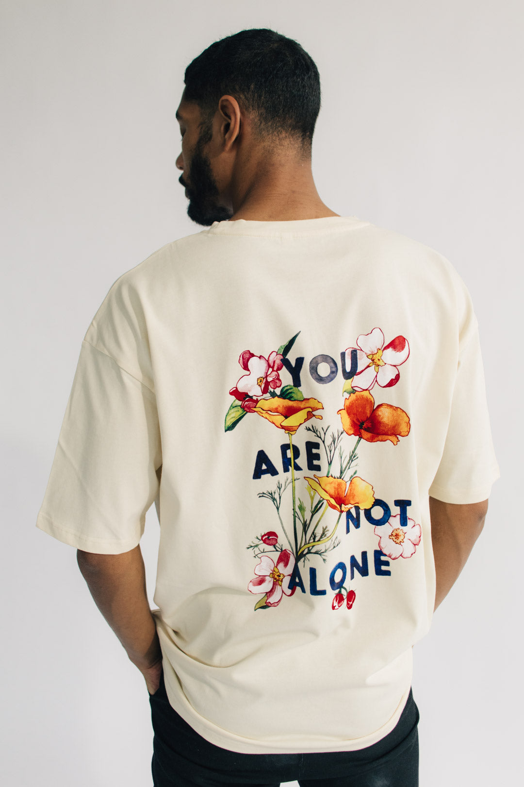You Are Not Alone Oversized T Shirt