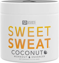 Load image into Gallery viewer, Gel de coco 'Workout Enhancer' de Sweet Sweat, hecho con aceite de coco orgánico extra virgen, frasco 'XL' de 13.5 fl oz