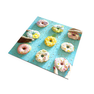 I Go To (250) Pieces Wooden Puzzle: 9 Donuts in Pass-It-On Pouch