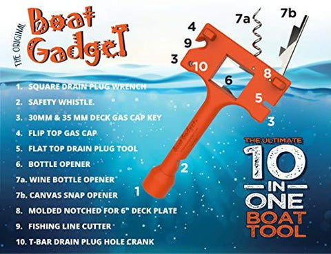 10 in 1 boat tool gifts for boat owners