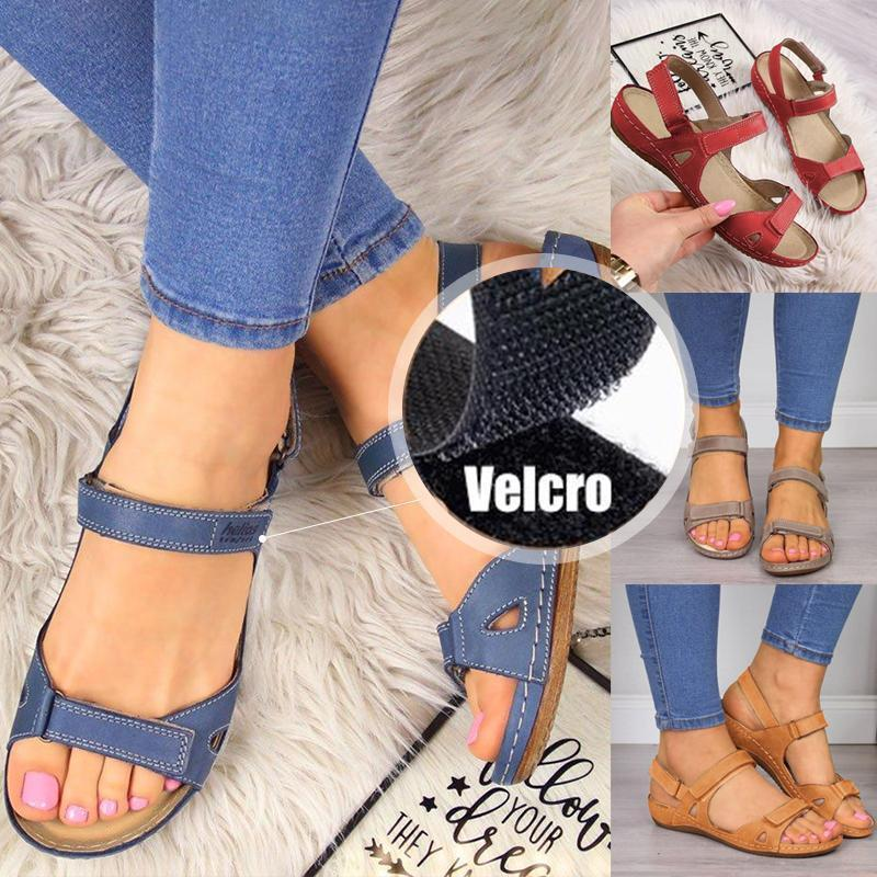 Ladies Sandals with Velcro