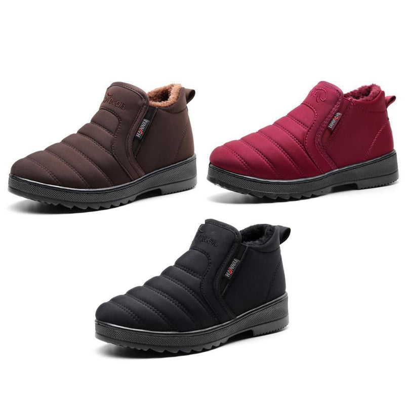 New Fashion Waterproof And Velvet Warm Non-Slip Cotton Shoes