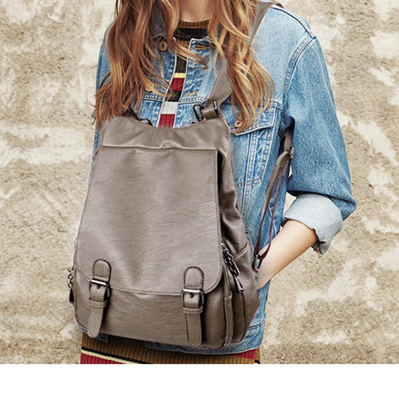 Fashionable multifunctional backpack
