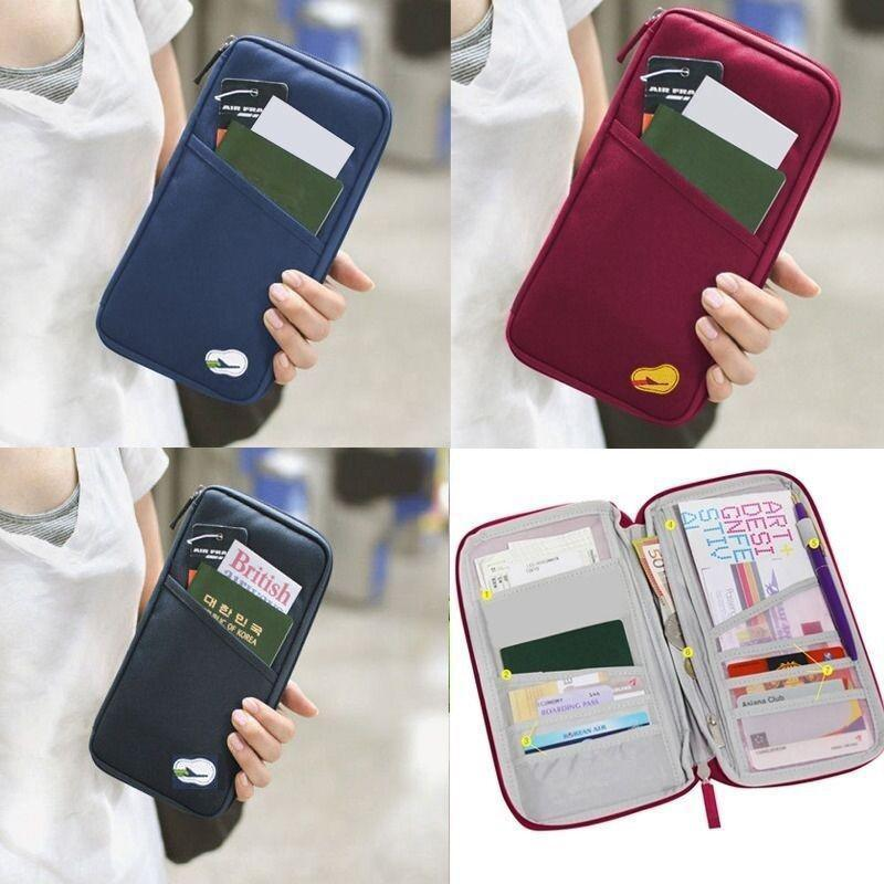 Multi-pockets Travel Storage Wallet