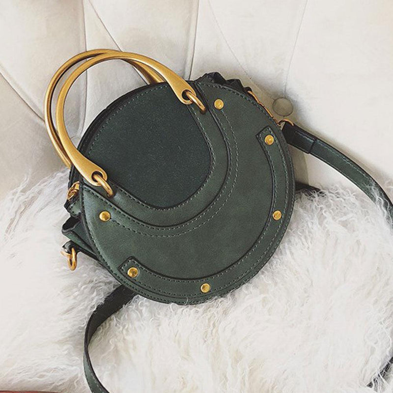 Small Round Retro Handbag